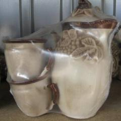 I will sell household products from ceramics of