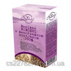 Bran oat with grape seed