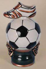 Figures from ceramics souvenirs football 2012