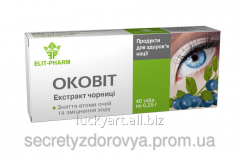 Preparation for eyes of Okovi