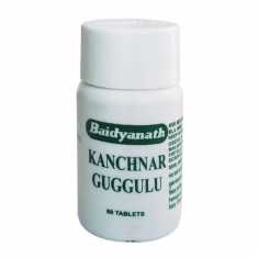 Means for clarification of a lymph Kanchnar Guggul