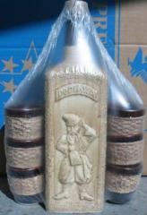 Glasses ceramic sets wine of ceramics production