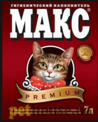"Fillers for cat's toilets ""Maks™"