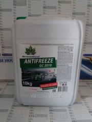 GreenCool GC2010 cooling liquid of green, 10 kg