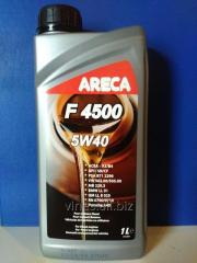 The Areca F4500 5W40 engine oil, 1l/synthetics for
