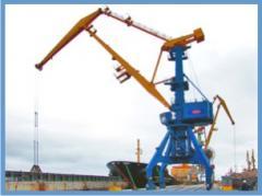 Portal cranes full revolving