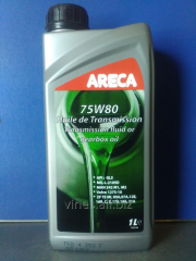 Transmission Areca 75w-80, 1 oil of l