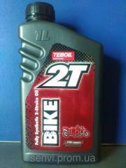 Oil for 2-stroke Teboil 2T Bike engines, 1 l.