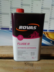 Transmission Rovas Fluide III oil, 1l/for