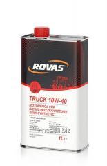 The Rovas Truck 10W-40 engine oil,