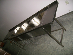 School desk sink 3 x section. 2400х600х850 bowl 520х450х300
