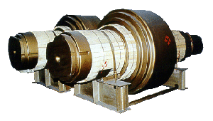 Rolls of pressing, bar and high-quality mills