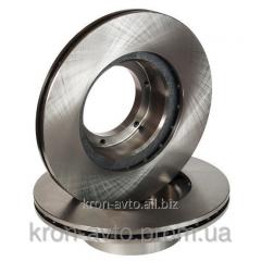 Brake disk front GAZ 3302, 2705