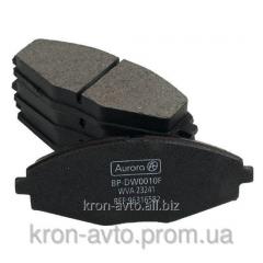 Block of a disk brake forward CHEVROLET Aveo 1,5
