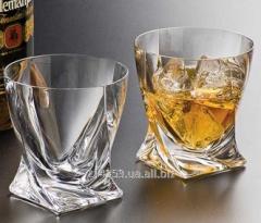 B2k936-99A44 whisky Bohemia Quadro glass