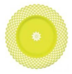 Plate soup Luminarc Lance Green J2739 21 of cm