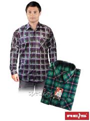 Shirt man's flannel KF-C3 (100% cotton)