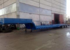 Semi-trailer three-axis fashions. VESST-975310 for