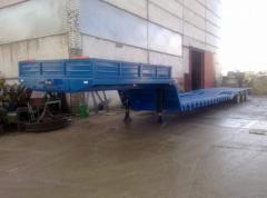 The semi-trailer three-axis VESST-975310 of la of
