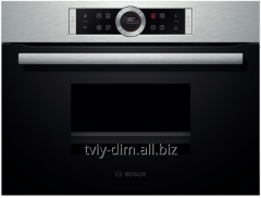 The built-in Bosch CDG634BS1 oven