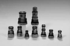 Backpressure hydraulic valves. Hydraulic