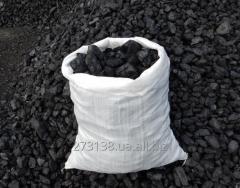Brown coal of the B1 brand in bags