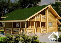 "Turnkey wooden house ""Berendey"