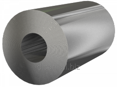 Steel galvanized sheet and rolled