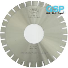 Disk knives of GSP (Czech Republic) for foam