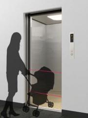 The safety sensor photo-electric for elevators /