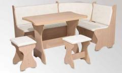 Furniture sets for kitchen angular soft