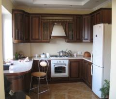 Кухня классическая Зебрано.Мебель в широком