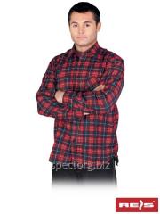 Shirt man's flannel KF-GN (100% cotton)