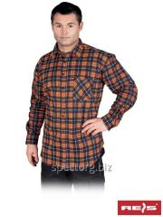 Shirt man's flannel KF-MC (100% cotton)