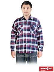 Shirt man's flannel fall-winter of KFLUX DC