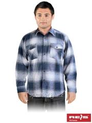 Shirt man's flannel fall-winter of KFLUX G