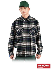 Shirt man's flannel fall-winter of KFLUX Z