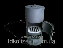 Furnace potbelly stove round 32х61