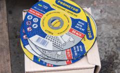 Disk detachable on metal 150х1.6х22.2, Formator