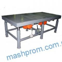 Vibrotable of EV-340 for production of paving