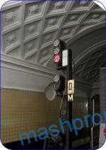 Head traffic light for tunnel traffic lights of