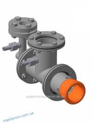 Torch the combined gas liquid-fuel vortex GGV-10