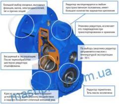 Motor reducer cylindrical series F