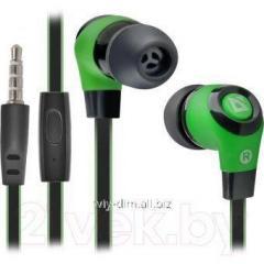 Defender Pulse 430 Black/Green earphones