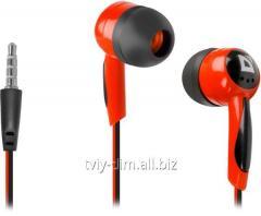 Defender Basic-604 Black-Red earphones