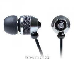 Earphones of Real-El of Z-1500 black