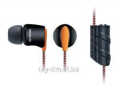 Earphones of Real-El of Z-1700 black