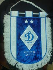 The pennants embroidered, pennants to order