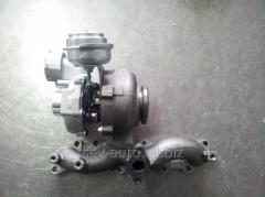Kомпрессор, наддув (турбина) Mercedes Benz Sprinter 906 2.2 CDI 2.0 Garrett 756062