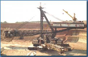 Rotor excavators